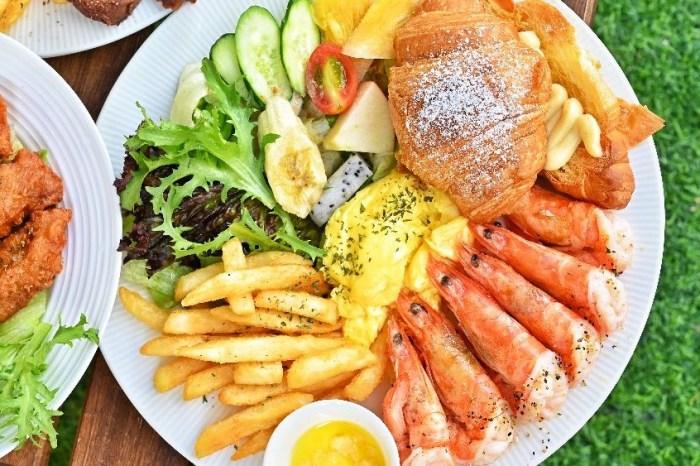 貳食│沒訂位吃不到的早午餐,餐點超澎派,還有販售義大利麵,激推第一名炸豬排!