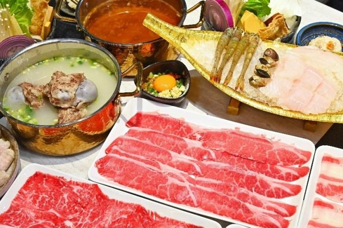 經營77年之久的高雄老品牌汕頭泉成,肉食霸王雙人餐一次提供四種熟成牛肉,吃肉吃得真的很過癮