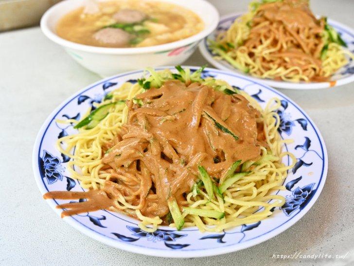 20210213084839 77 - 在台中也吃的到台北涼麵,位置超隱密的人氣銅板美食,除了涼麵,三合一湯也是必點!