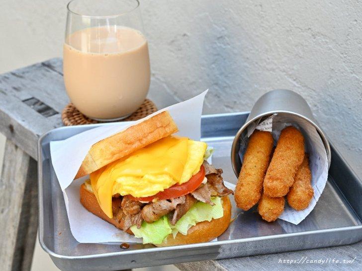 20210330115150 4 - 台中網美系早午餐,主打手作三明治,激推薯餅起司三明治,瀑布起司超邪惡~