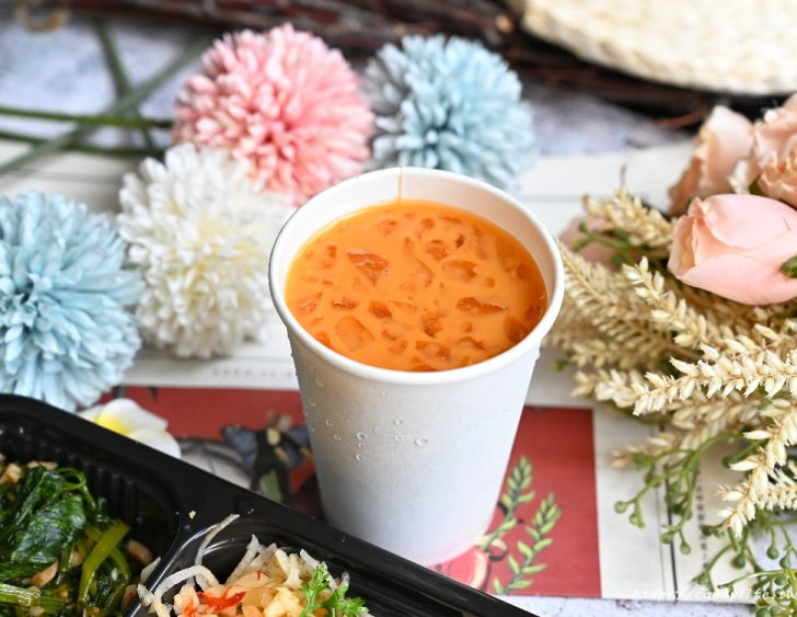 20210722201948 25 - 台中質感泰式便當推薦,香濃綠咖哩、泰式紅咖哩、泰式打拋豬,還有泰式海南雞飯每日限量,外帶自取再贈泰式奶茶~