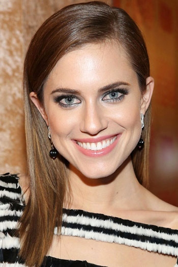 Allison Williams Straight Long Hairstyle Casual Party