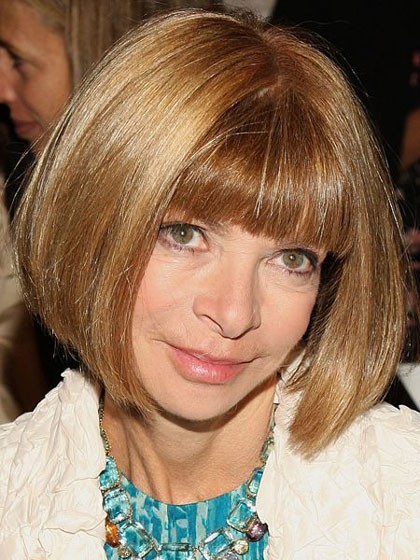 Anna Wintour Hairstyles