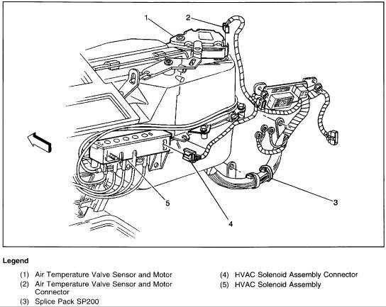 2000 gmc jimmy heater control diagram  auto electrical