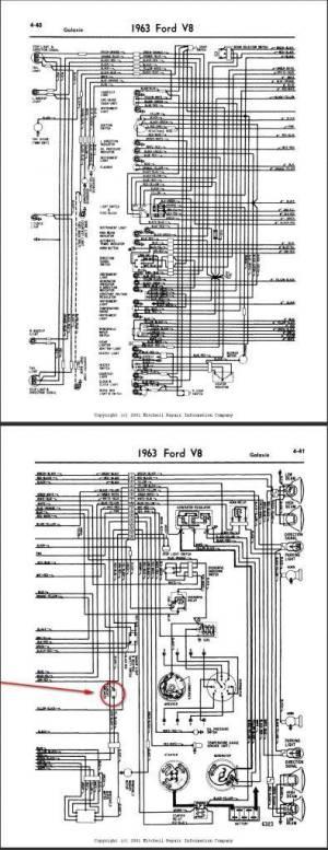 Ford Galaxie 500 Wiper Switch