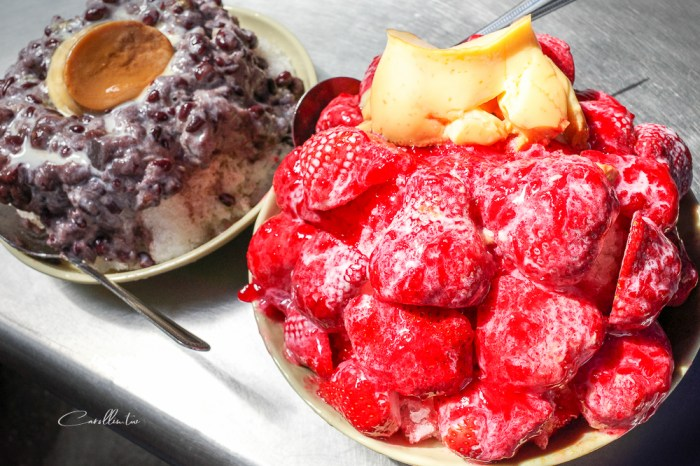 台南美食 | 冰鄉 – 草莓季最強限定冰品!40年老店滿滿一碗的誠意