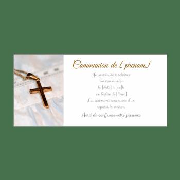 faire part de communion a imprimer gratuit