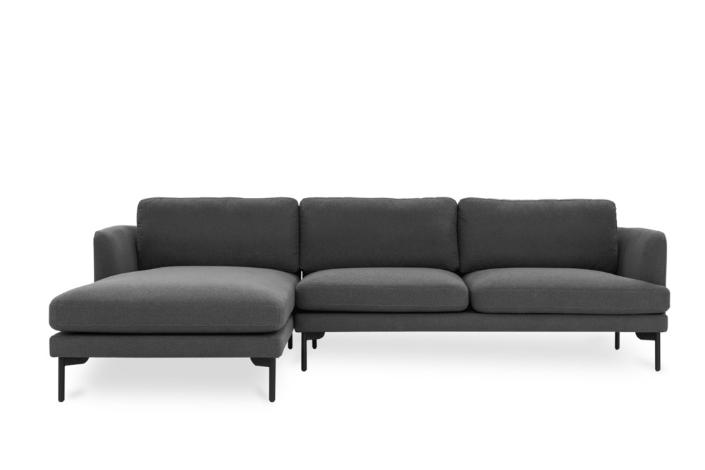 pebble chaise sectional sofa