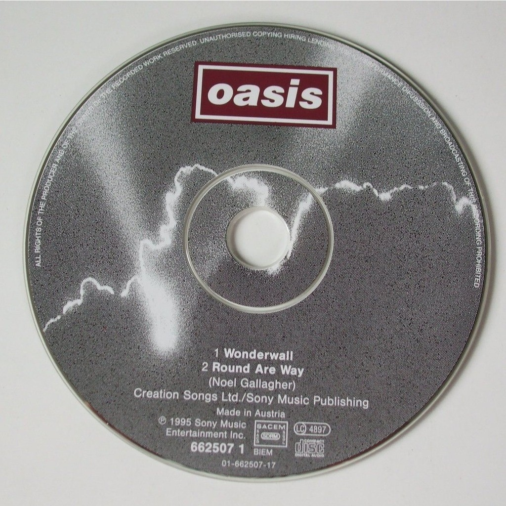 Wonderwall By Oasis CDS With Dom88 Ref117534414
