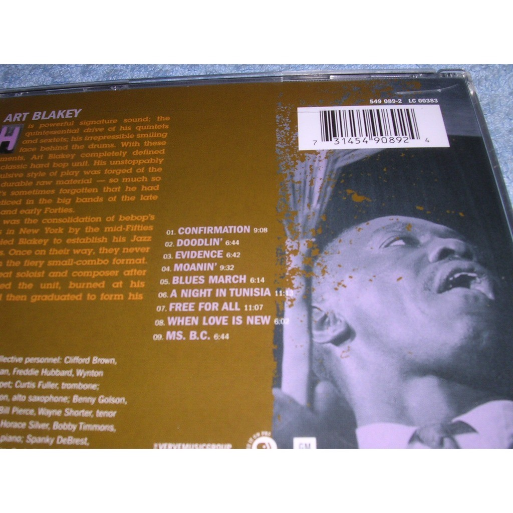 Ken Burns Jazz By Art Blakey Cd With West Coast Records