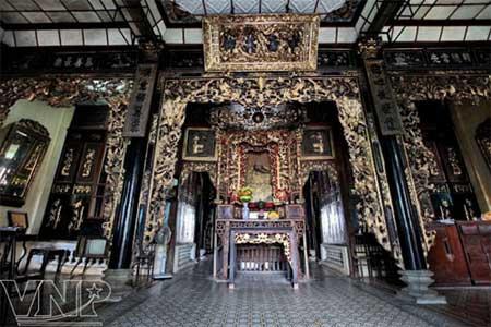 Historic house, Huynh Thuy, Tien River, Sa Dec, cultural historical relic