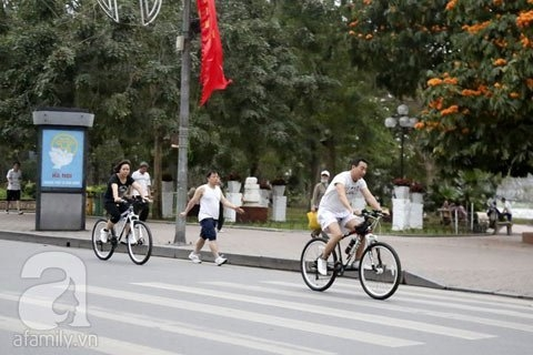 cycling, cyclist, trend, hanoi, bike, bicycle, bikers