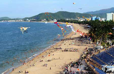 Nha Trang sea festival, International Sea Travel Expo 2013, Spanish flamenco