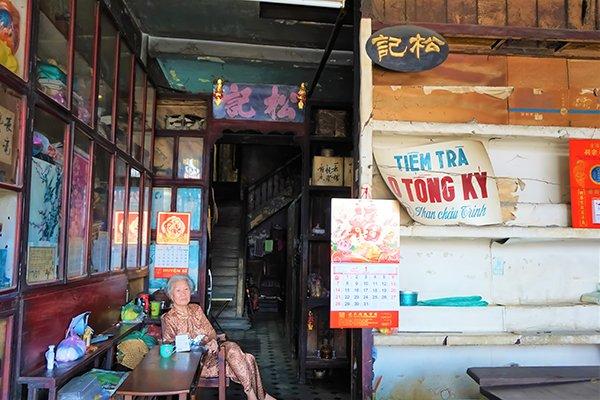 A 105-year-old tea shop in Ben Thanh Market area, travel news, Vietnam guide, Vietnam airlines, Vietnam tour, tour Vietnam, Hanoi, ho chi minh city, Saigon, travelling to Vietnam, Vietnam travelling, Vietnam travel, vn news