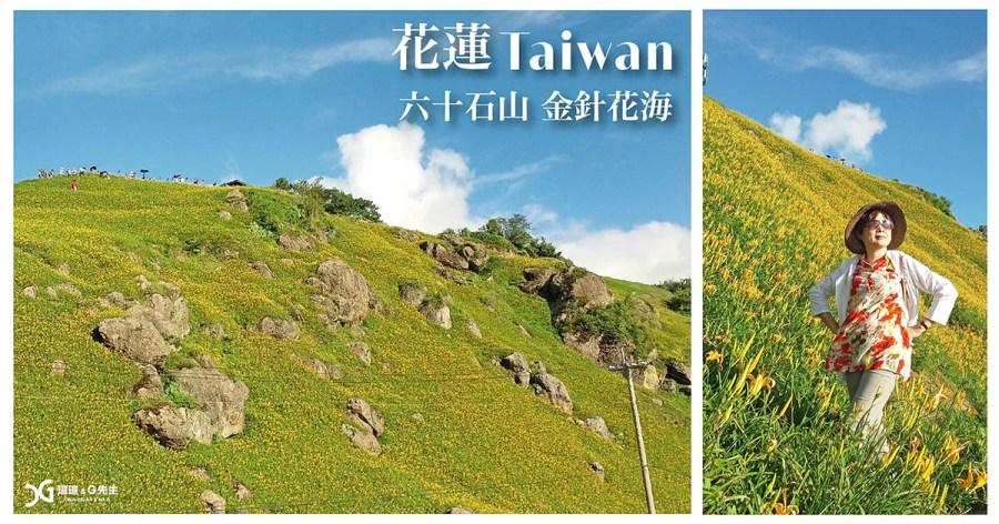【花蓮景點】六十石山 把握最後金針花季 花開遍野 猶如天使的花毯 花蓮旅遊推薦 @G媽特派員