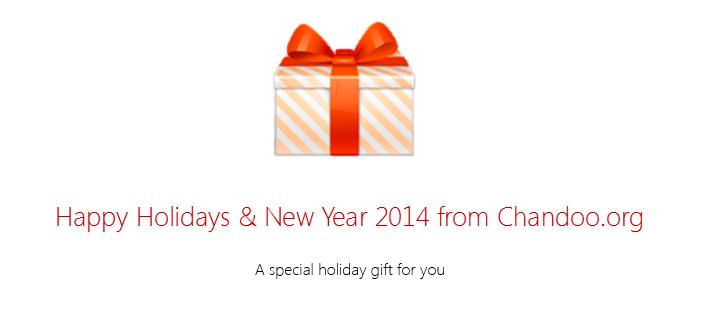 Holiday gift - Chandoo.org