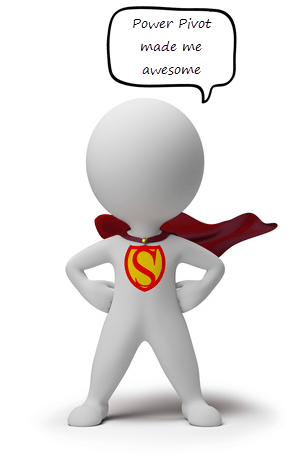 Learn Power Pivot because you want to be awesome