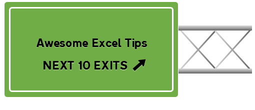 Learn Awesome Excel Tips while Chandoo is on a road trip
