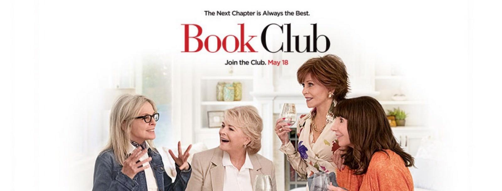 Movie, Book Club(美國) / 高年級姐妹會(台) / 读书会(網), 電影海報, 美國, 橫版