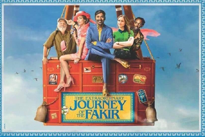 Movie, The Extraordinary Journey of the Fakir(法國.印度) / 跟著IKEA衣櫥去旅行(台) / 苦行僧的非凡旅程(中), 電影海報, 印度, 橫版