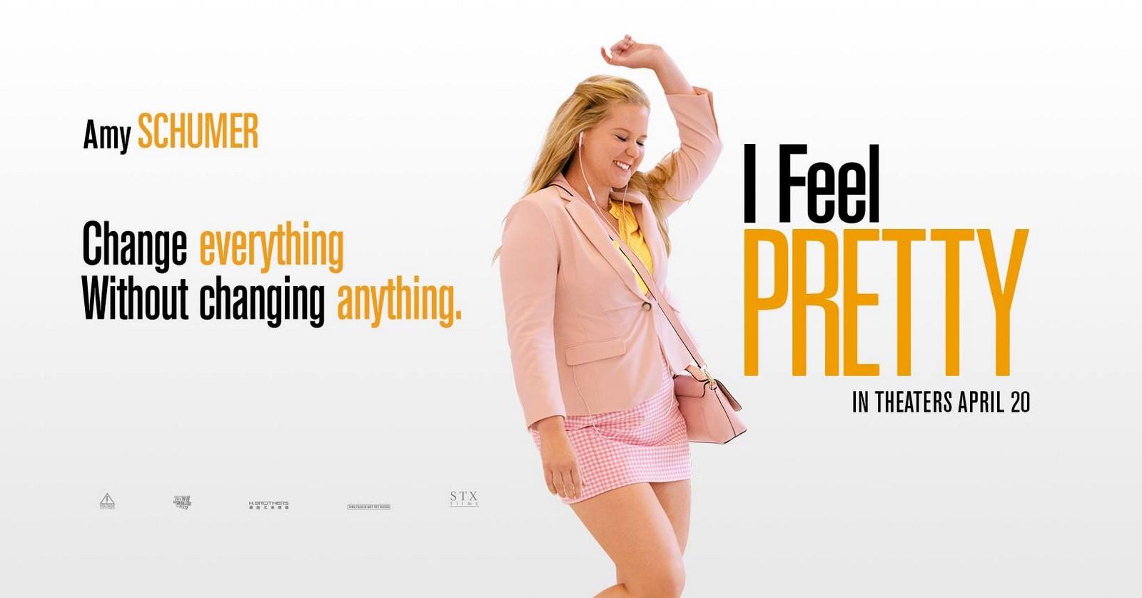 Movie, I Feel Pretty(美國.中國) / 姐就是美!(台) / 自觉美丽(網), 電影海報, 美國, 橫版