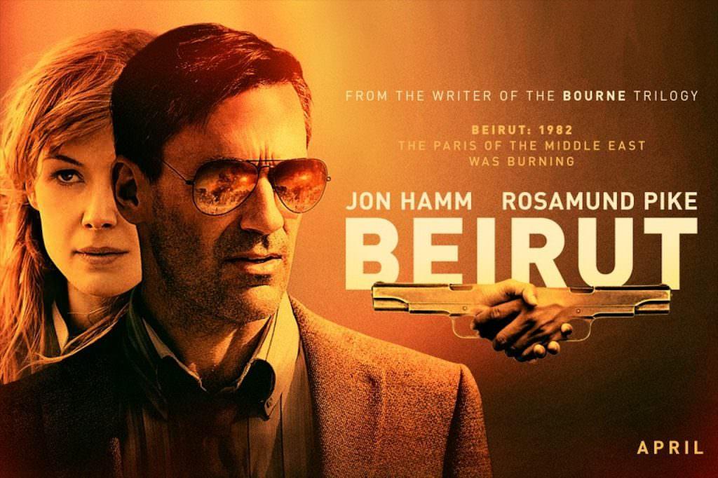 Movie, Beirut(美國) / 高壓行動(台) / 贝鲁特(網), 電影海報, 美國, 橫版
