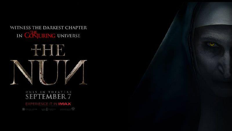 Movie, The Nun(美國, 2018) / 鬼修女(台) / 詭修女(港) / 修女(網), 電影海報, 美國, 橫版