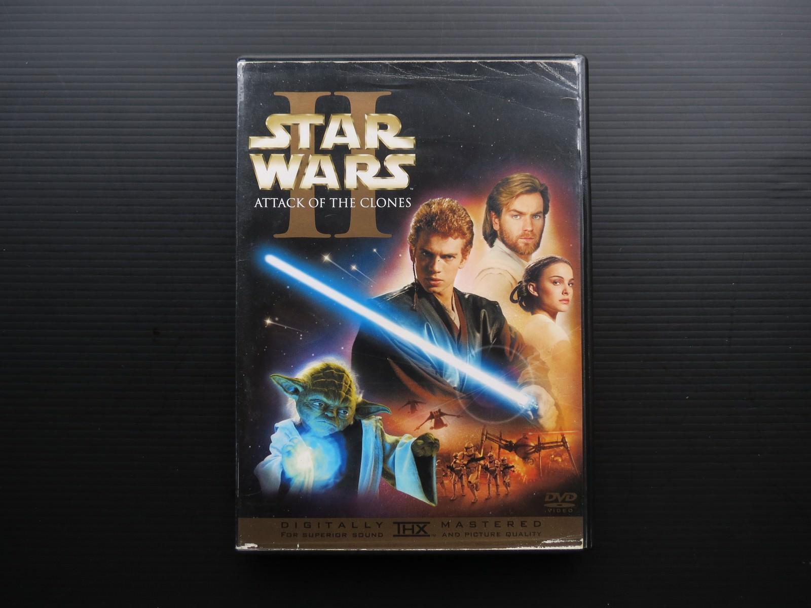 Movie, Star Wars Episode II: Attack of the Clones(美國, 2002) / 星際大戰二部曲:複製人全面進攻(台灣) / 星球大战前传:克隆人的进攻(中國) / 星球大戰前傳:複製人侵略(香港), 電影DVD