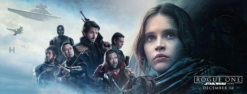 Movie, Rogue One: A Star Wars Story(美國, 2016) / 星際大戰外傳:俠盜一號(台灣.香港) / 星球大战外传:侠盗一号(中國), 電影海報, 美國, 橫版