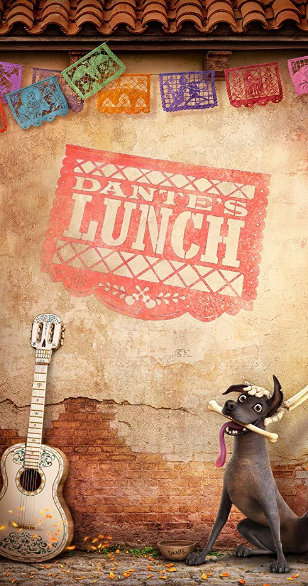 Film, Dante's Lunch(美國, 2017年) / 丹丹的午餐(台灣), 短片海報, 美國