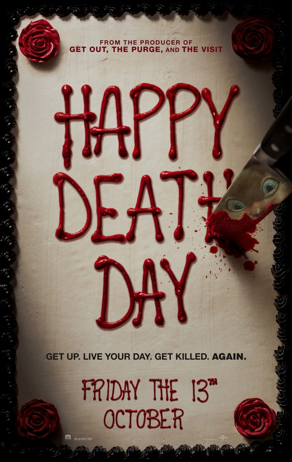 Movie, Happy Death Day(美國, 2017年) / 忌日快樂(台灣) / 忌日快乐(中國) / 死亡無限LOOP(香港), 電影海報, 美國