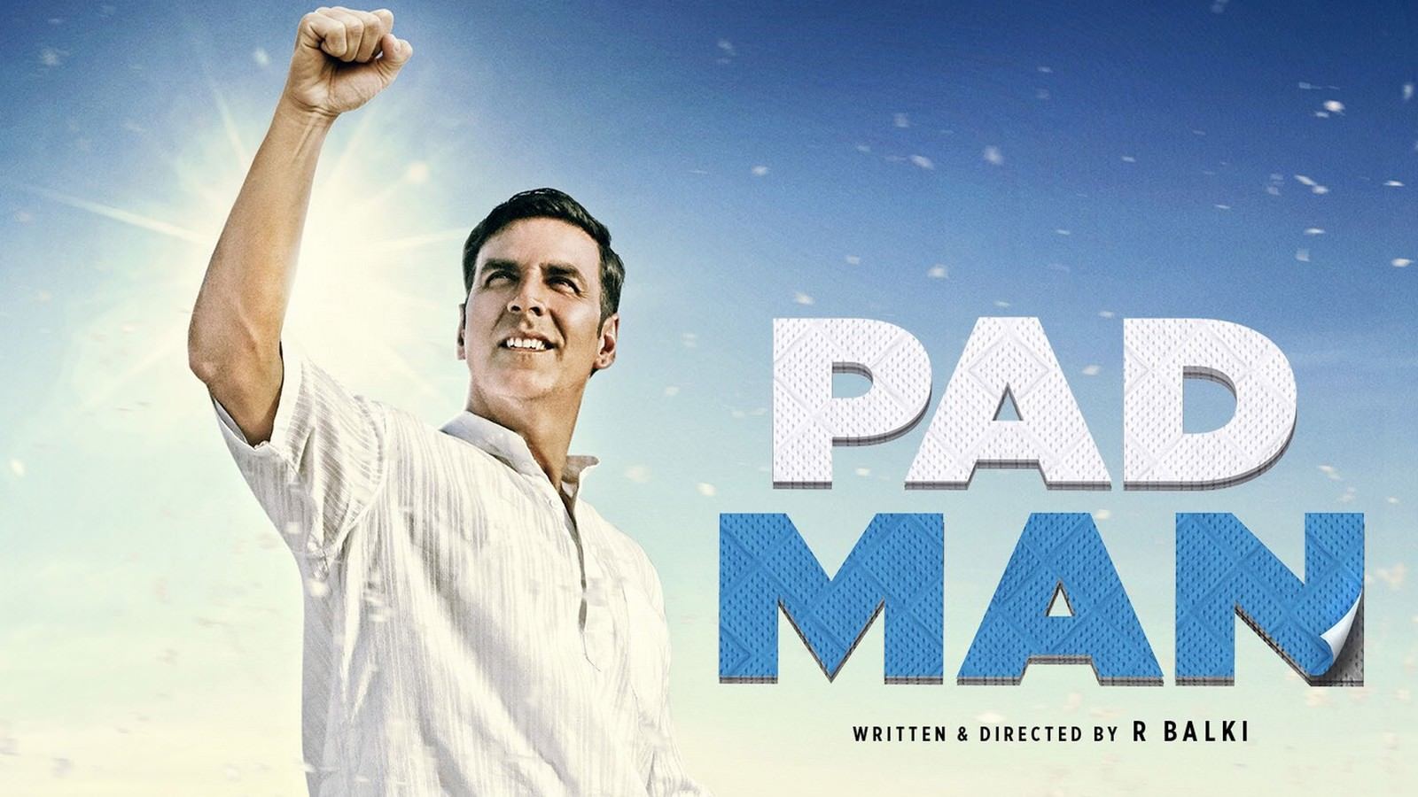 Movie, PadMan(印度, 2018年) / 護墊俠(台灣) / 印度合伙人(中國), 電影海報, 印度, 橫板