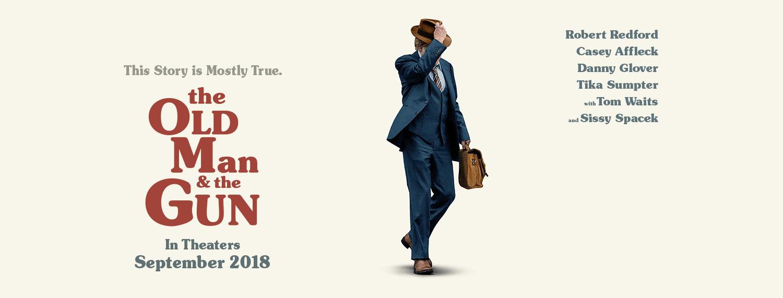 Movie, The Old Man & the Gun(美國, 2018年) / 老人與槍(台灣) / 老人和枪(網路), 電影海報, 美國, 橫版