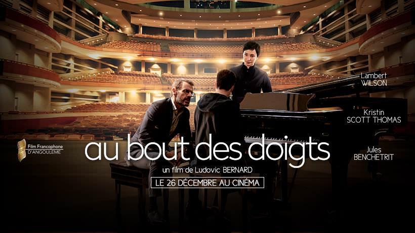 Movie, Au bout des doigts(法國, 2018年) / 天才樂手行不行(台灣) / In Your Hands(英文) / 指尖(網路), 電影海報, 法國, 橫版