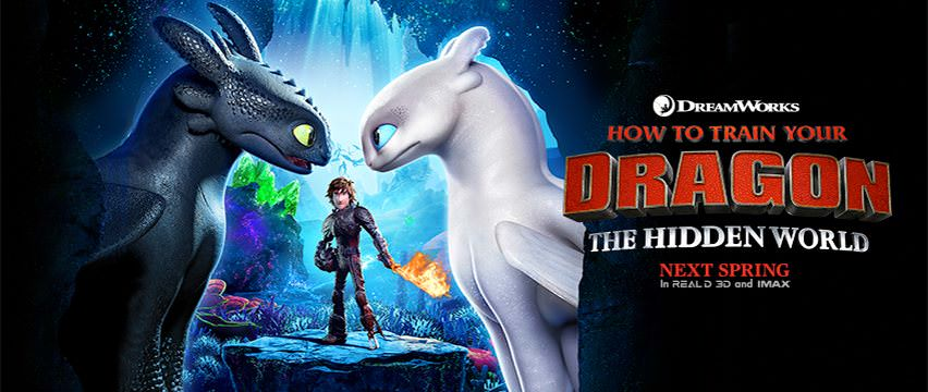 Movie, How to Train Your Dragon: The Hidden World(美國, 2019年) / 馴龍高手3(台灣) /馴龍記3(香港) / 驯龙高手3(中國), 電影海報, 美國, 橫版