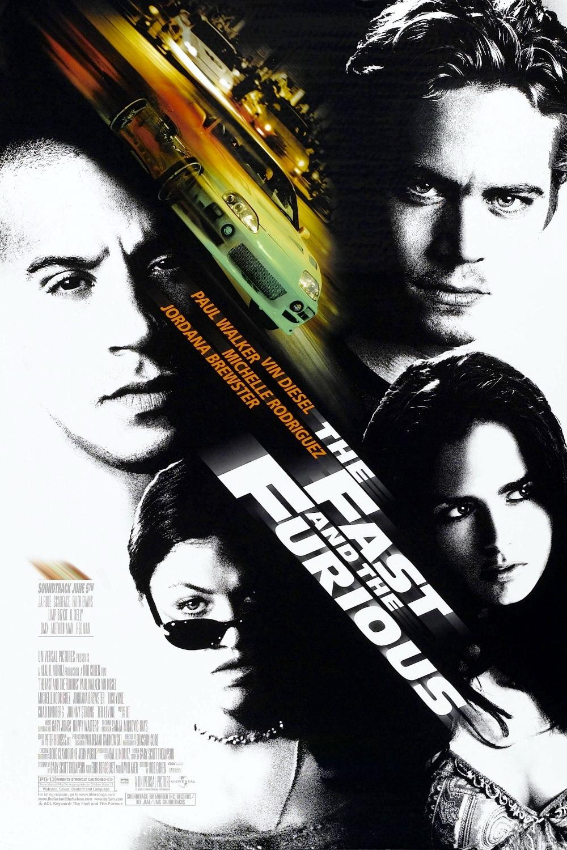 Movie, The Fast and the Furious(美國, 2001年) / 玩命關頭(台灣) / 狂野時速(香港) / 速度与激情(網路), 電影海報, 美國