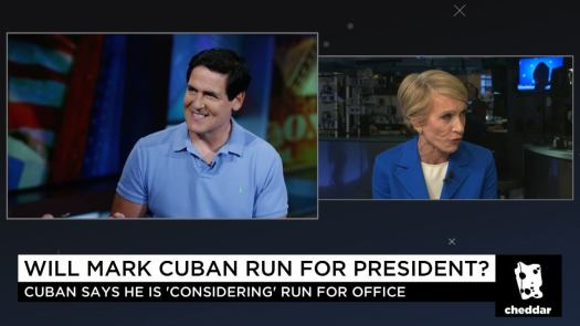"""Shark Tank's"" Barbara Corcoran: Mark Cuban Would Be a ..."