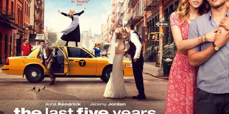 【影評】《最後那五年》相識、相愛、結婚到離婚,只要五年?