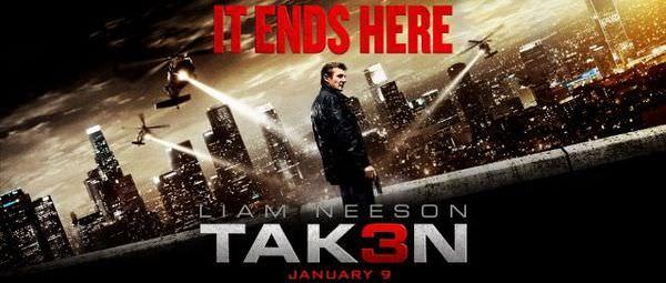 【影評】《即刻救援3》Taken 3