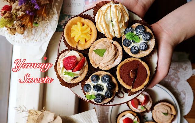 台中北區│YummySweets雅蜜斯牛軋堂*藏身巷弄間的甜點秘密基地,牛軋糖牛軋餅是經典招牌,還有水果蛋糕盒子與迷你小塔超繽紛!