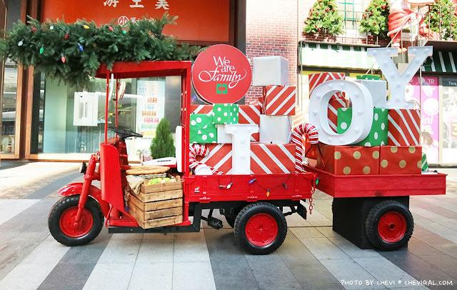 聖誕老人竟然落跑啦!那我的禮物在哪裡?快來金典綠園道和聖誕老公公一起回家吧!