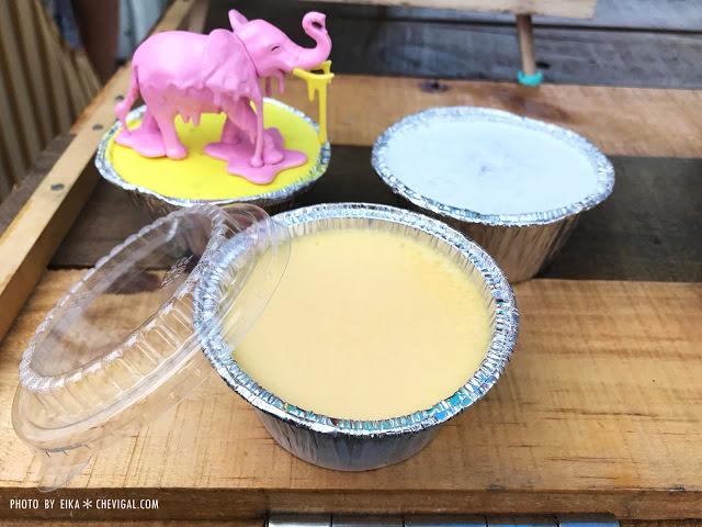 台中烏日│浪牛布蕾*烏日神秘新甜點。藍色鐵馬小攤車每週只出沒兩天,還是限量的喔!