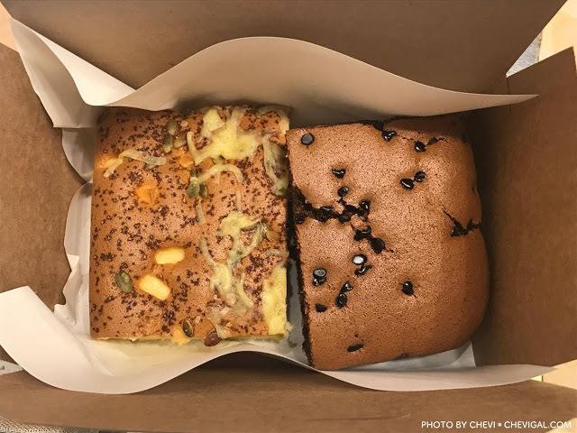 台中西屯│雞蛋牛奶古早味蛋糕*口味口感再升級!推薦苦甜巧克力口味,假日還有隱藏口味唷!