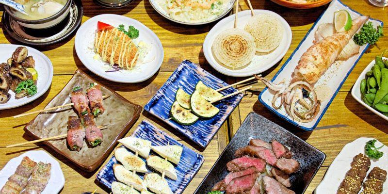 小立野串燒酒場忠明店,台中最嗨最歡樂的居酒屋,超過百種串燒飲品任你選!