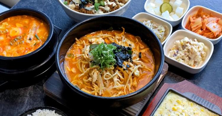 拉拉廚房韓式料理,道地韓式風味商業午餐全新登場,還有美味小菜無限續!