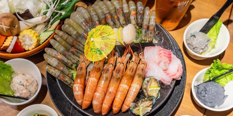 在中世紀古堡也能享用超鮮甜海鮮火鍋!蟹老闆竹炭火鍋,蝦爆海鮮鍋全新推出!