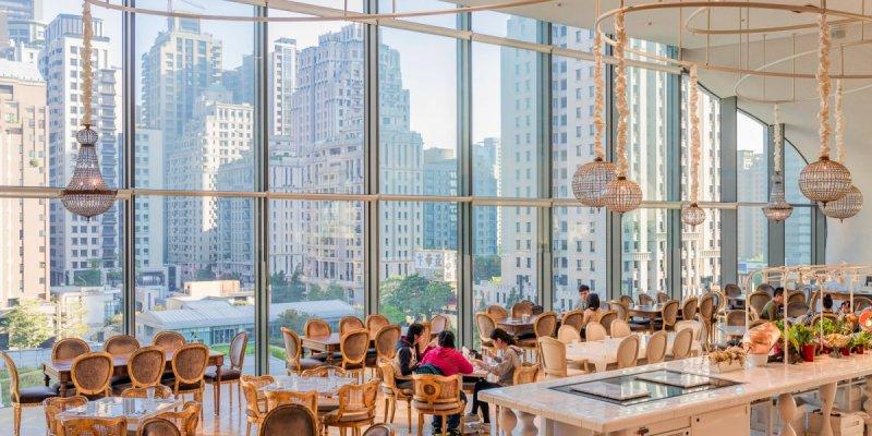 VVG Food Play好樣食藝,在神秘洞穴裡俯瞰台中市中心景觀,享用融合藝術美學的法式質感料理