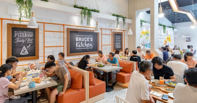 布佬廚房│台中清新森林系餐廳,多國人氣蔬食料理好美味,假日容易客滿建議先訂位