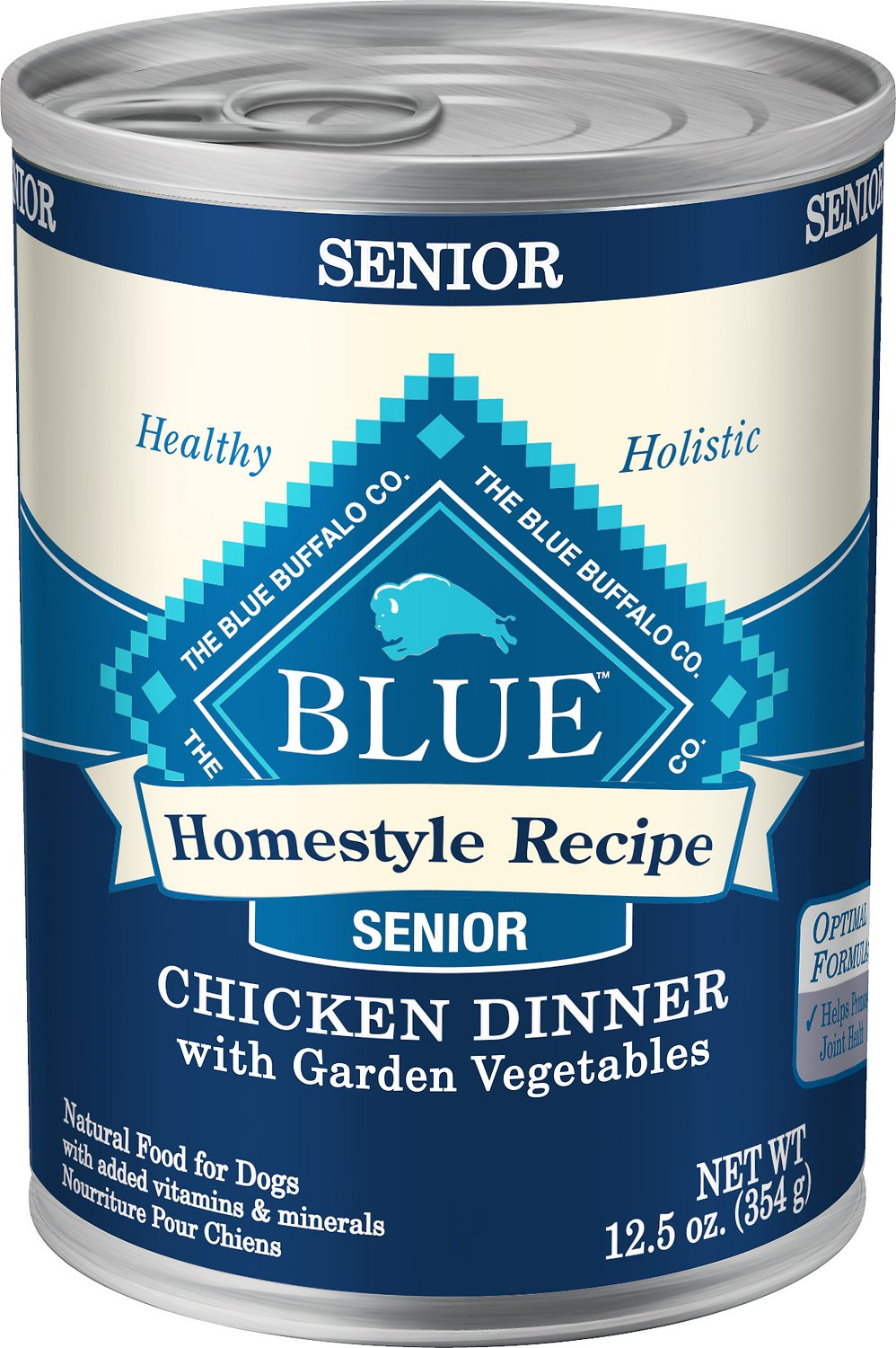 Blue Buffalo Homestyle Recipe Senior Chicken Dinner With Garden Vegetables Canned Dog Food 125