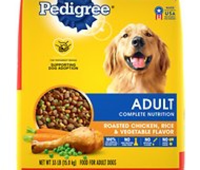 Pedigree Adult Complete Nutrition Roasted Chicken Rice Vegetable Flavor Dry Dog Food